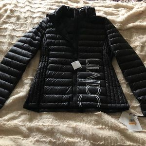 Calvin Klein packable jacket
